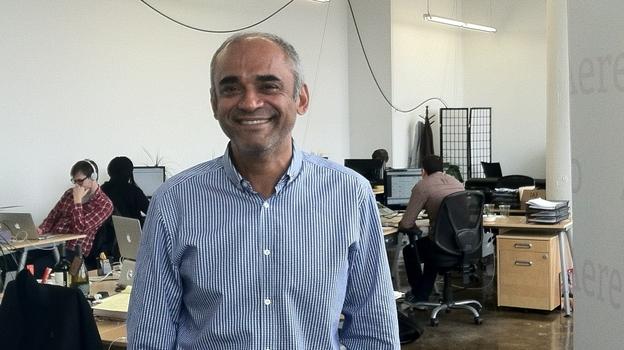 Aereo CEO Chet Kanojia (NPR)