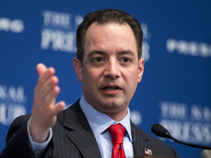 Republican National Committee Chairman Reince Priebus speaks at the National Press Club in March. Priebus has irritated faith-based values voters and others in the GOP with his quest to retool the party following the losses of 2012.