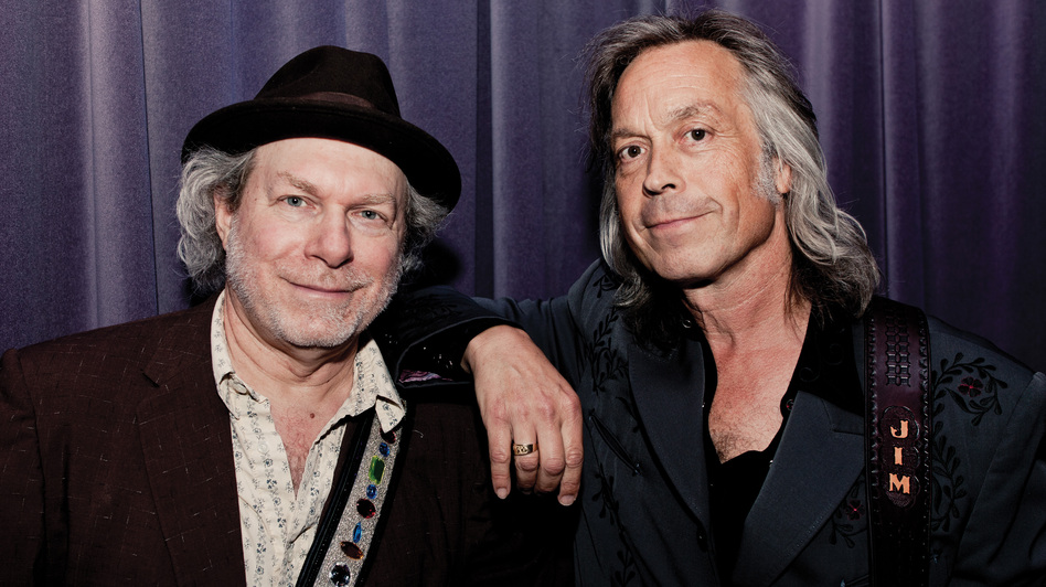Buddy Miller and Jim Lauderdale. (Courtesy of the artist)