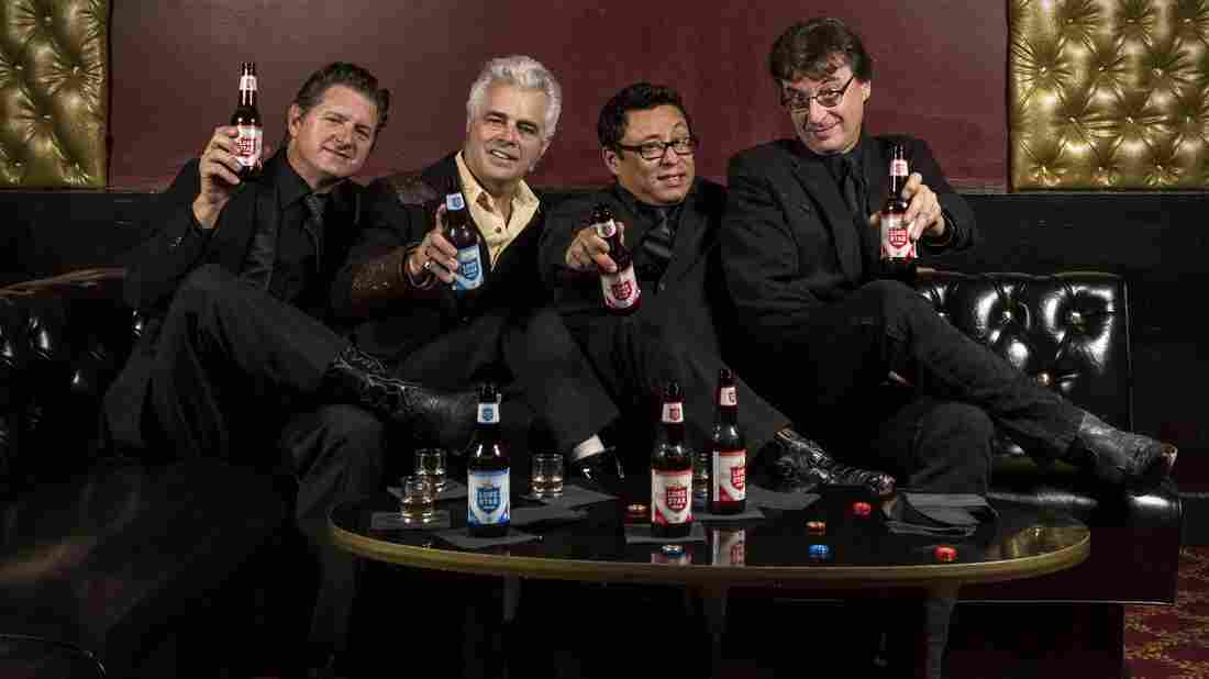 Dale Watson (second from left) and His Lonestars. Their new album is titled El Rancho Azul.