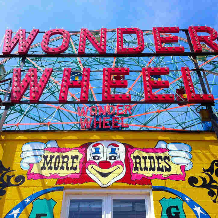 Deno's Wonder Wheel in Coney Island.