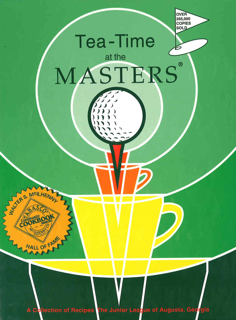 Tea-Time at the Masters is a popular Junior League of Augusta cookbook, first published in 1977. It's now in its 17th reprint.