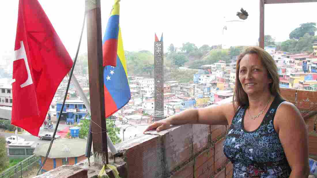 Maria Colmenares lives in a concrete-block house on a mountainside overlooking the presidential palace in the Venezuelan capital, Caracas. Her story says much about the oil-rich and turbulent Latin American nation.