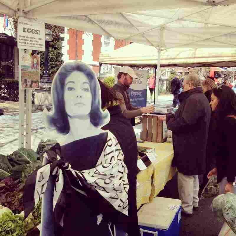 Touring an urban farmers' market (in Dupont Circle) reminds Callas of her humble upbringing in Manhattan's Washington Heights, as well as her subsequent move to Athens.