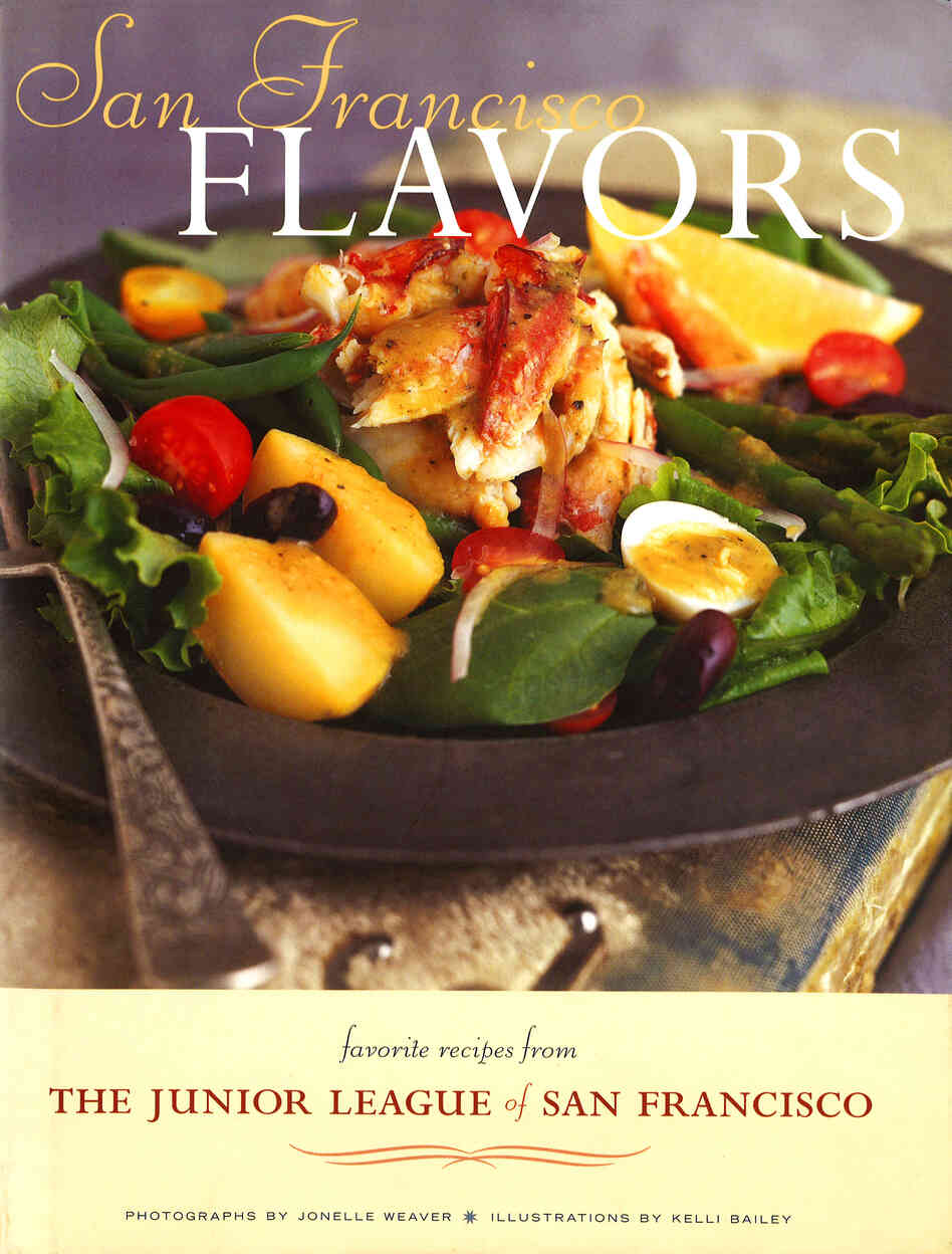 San Francisco Flavors includes favorite recipes from the Junior League of San Francisco. It also has tips from the city's most celebrated chefs and sommeliers, plus an introduction by Alice Waters of Chez Panisse restaurant.