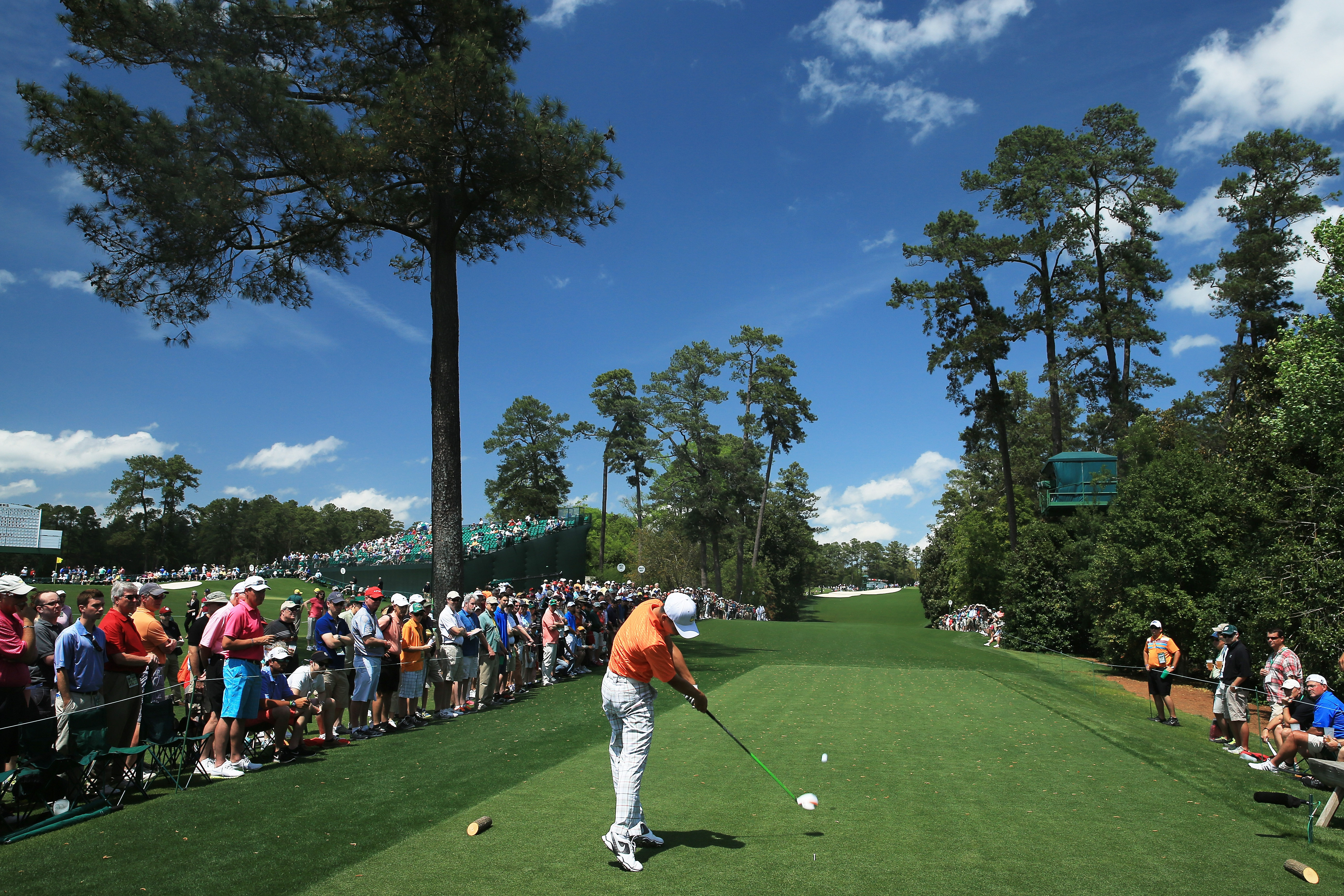 ... 2013 Masters Tournament at Augusta National Golf Club on Friday in