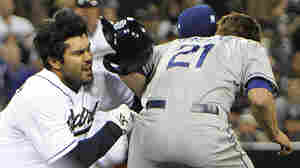 Dodgers' $147 Million Ace Greinke Breaks Collarbone In Brawl