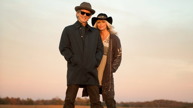 Rodney Crowell and Emmylou Harris. (Courtesy of the artist)