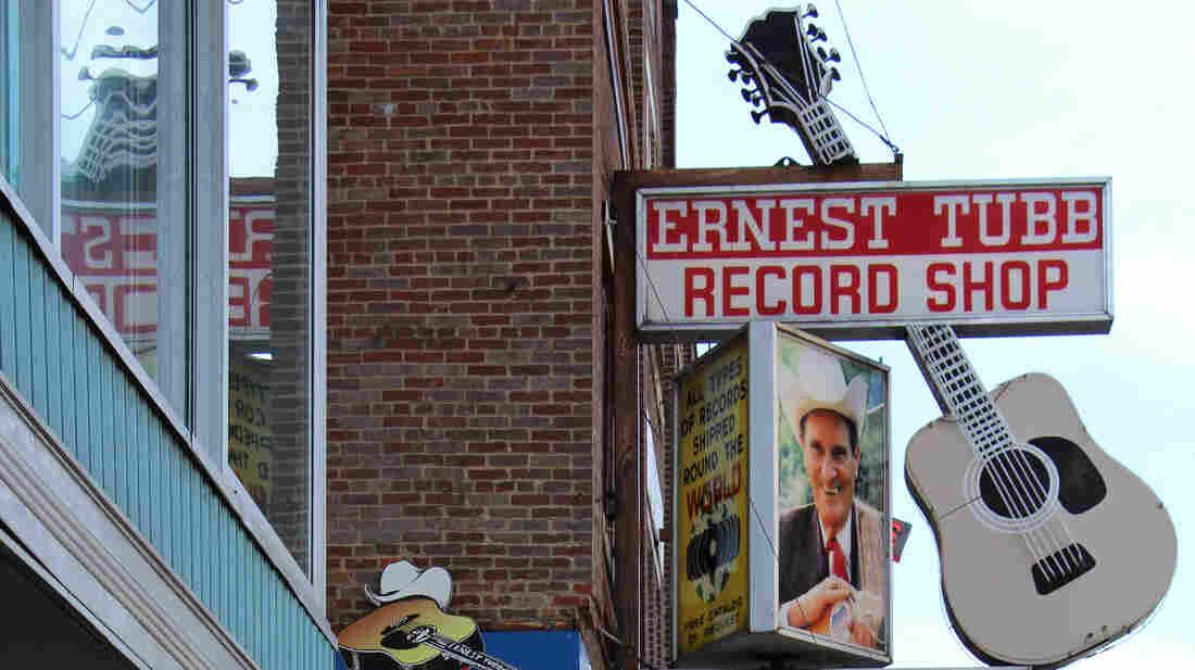 Ernest Tubb Record Shop in Nashville, Tenn.