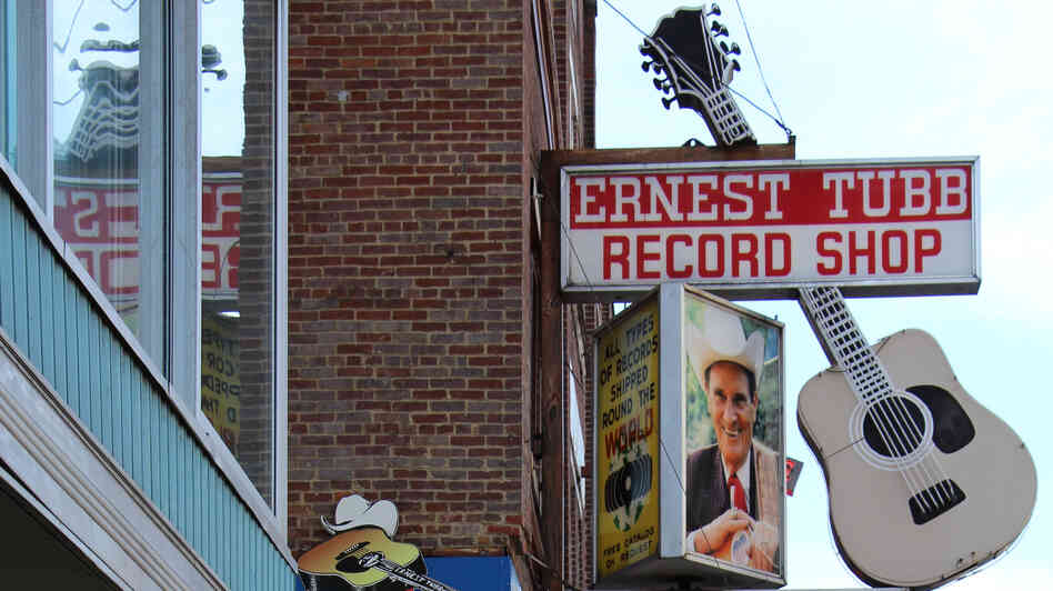 Ernest Tubb Record Shop in Nashville, Tenn.