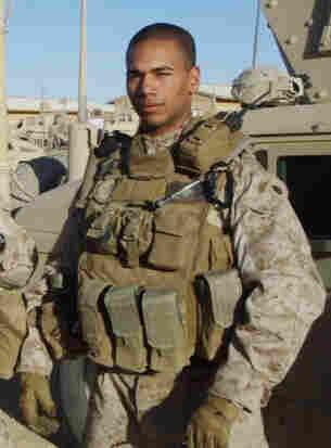 Staff Sgt. Daniel Hodd on deployment in Anbar Province, Iraq, 2008.