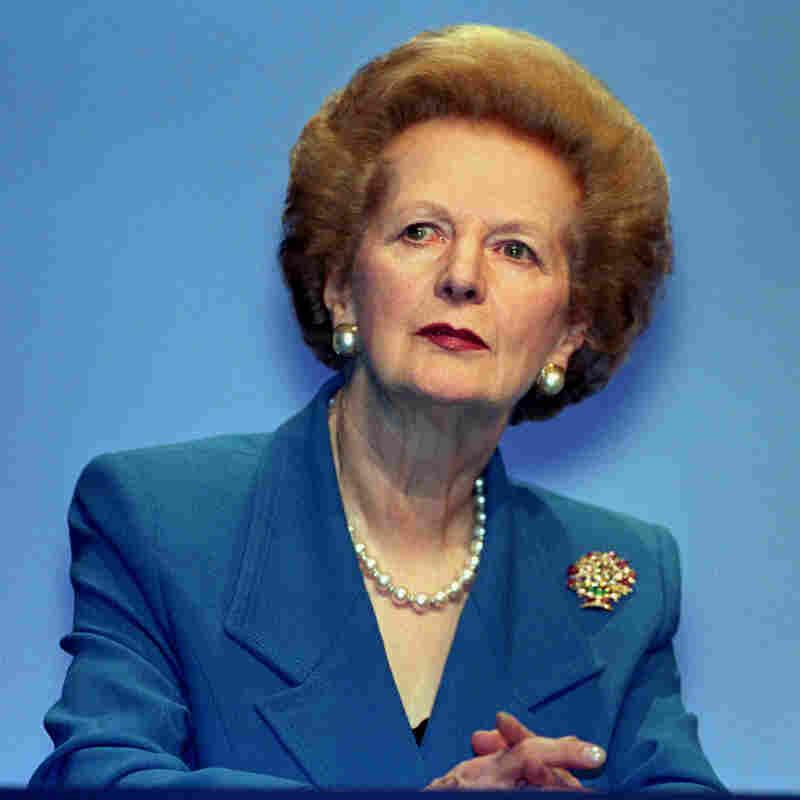 Former British Prime Minister Margaret Thatcher in 1996.