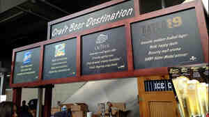 "The New York Yankees' ""Craft Beer Destination"" met with derision online, after fans noted the beers were all MillerCoors products — and one of them is a cider. The stand now has a new title, the ""Beer Mixology Destination."""