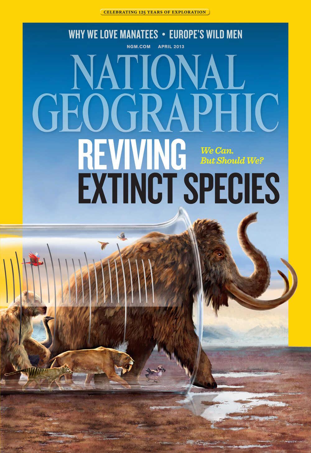 National Geographic Magazine, April 2013