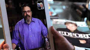 Drinks columnist David Wondrich is seen on Esquire's new Talk to Esquire app, which allows users to interact with several of the magazine's columnists through voice recognition.