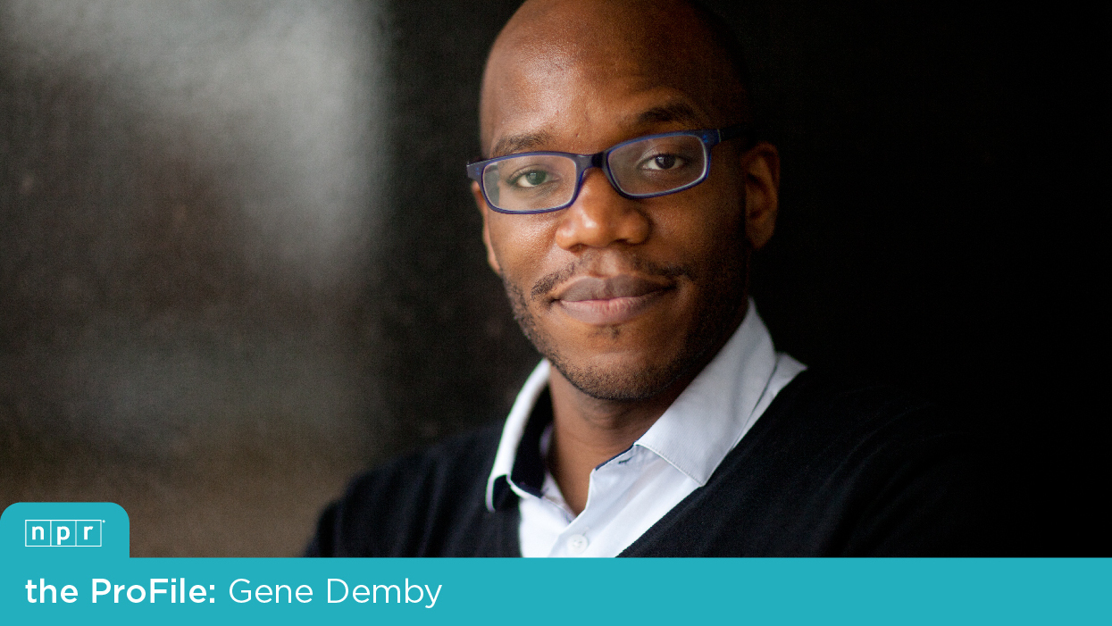 NPR's Code Switch blog host, Gene Demby.