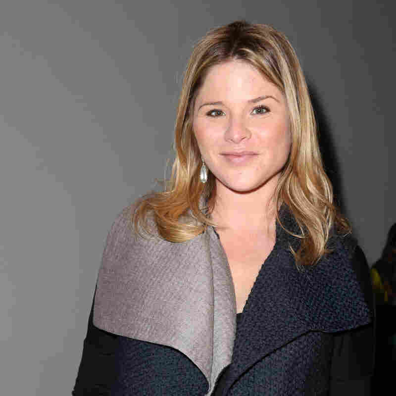 Jenna Bush in February. Over this past weekend, she gave  birth to a girl.