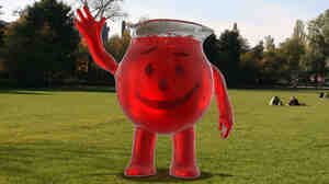 The new Kool-Aid Man.