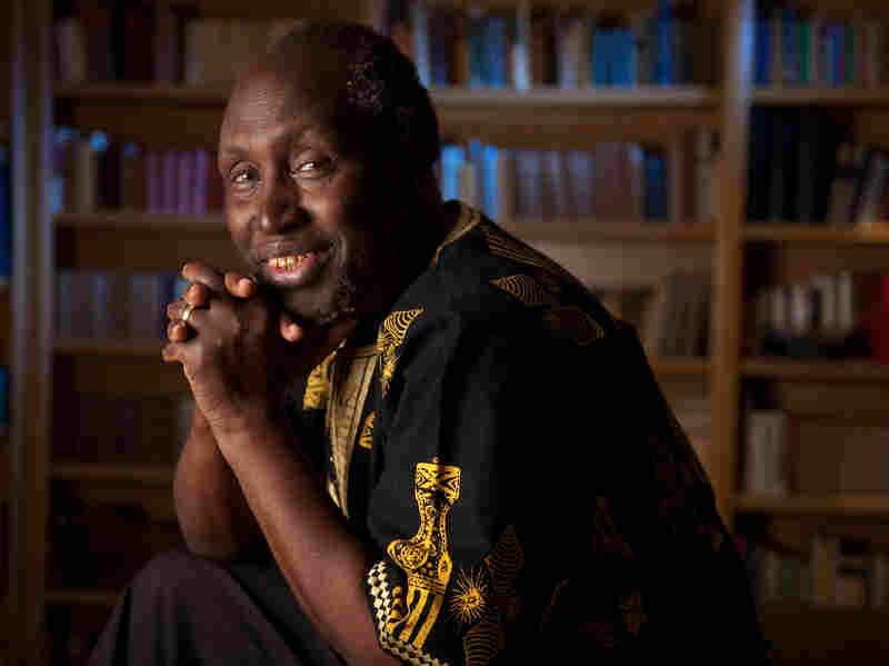 Kenyan author Ngugi wa Thiong'o is also a Professor at Universi