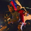 Supporters of acting President Nicolas Maduro celebrated Sunday night in Caracas, Venezuela, after the initial vote count showed him enjoying a narrow victory.