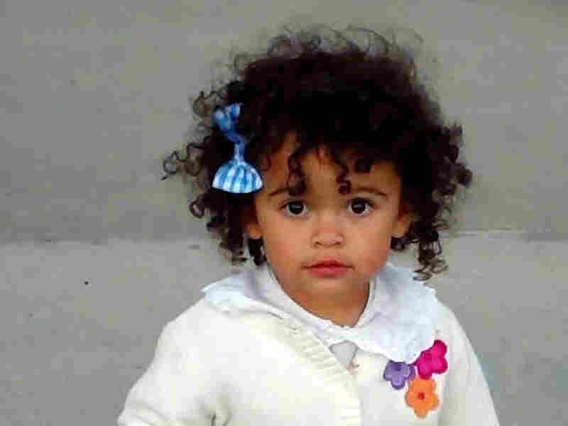 """This October 2011 photo of """"Baby Veronica"""" provided by her adoptive mother, Melanie Capobianco, shows Veronica trick-or-treating. The child has been the focus of a custody battle that hinges on a law meant to keep state workers from removing Native American children from their relatives and placing the children into white foster families."""