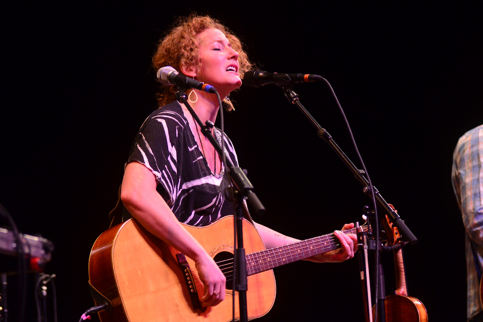 Kathleen Edwards performs live on Mountain Stage. (Mountain Stage)