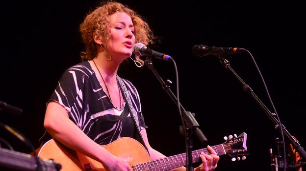 Kathleen Edwards performs live on Mountain Stage. (Mountain Stage)