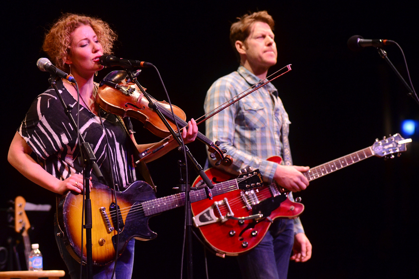 Kathleen Edwards performs live on Mountain Stage.