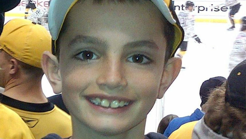 This undated photo provided by Bill Richard, shows his son, Martin Richard, in Boston. Martin Richard, 8, was among the at least three people killed in the explosions, Monday, April 15, 2013, at the finish line of the Boston Marathon. (AP/Bill Richard )