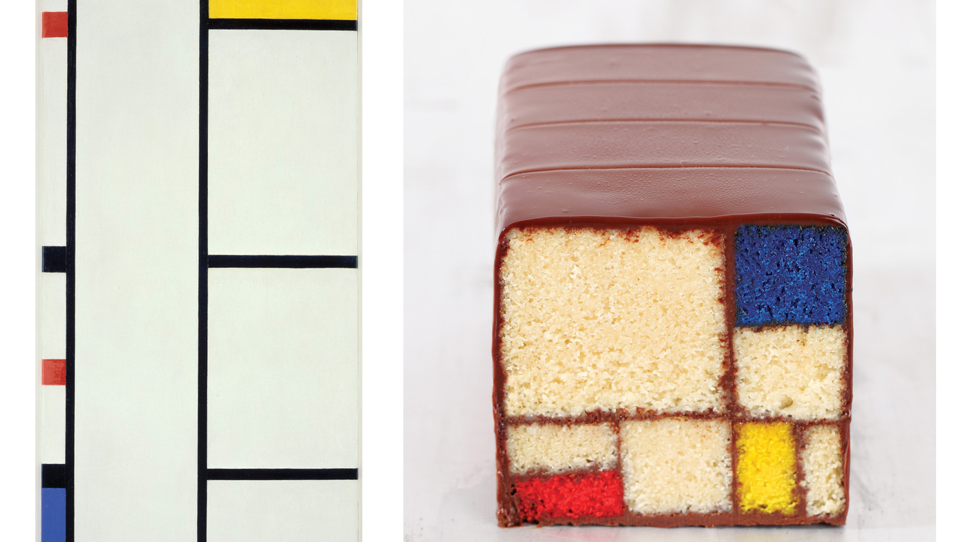 'Modern Art Desserts': How To Bake A Mondrian In Your Oven