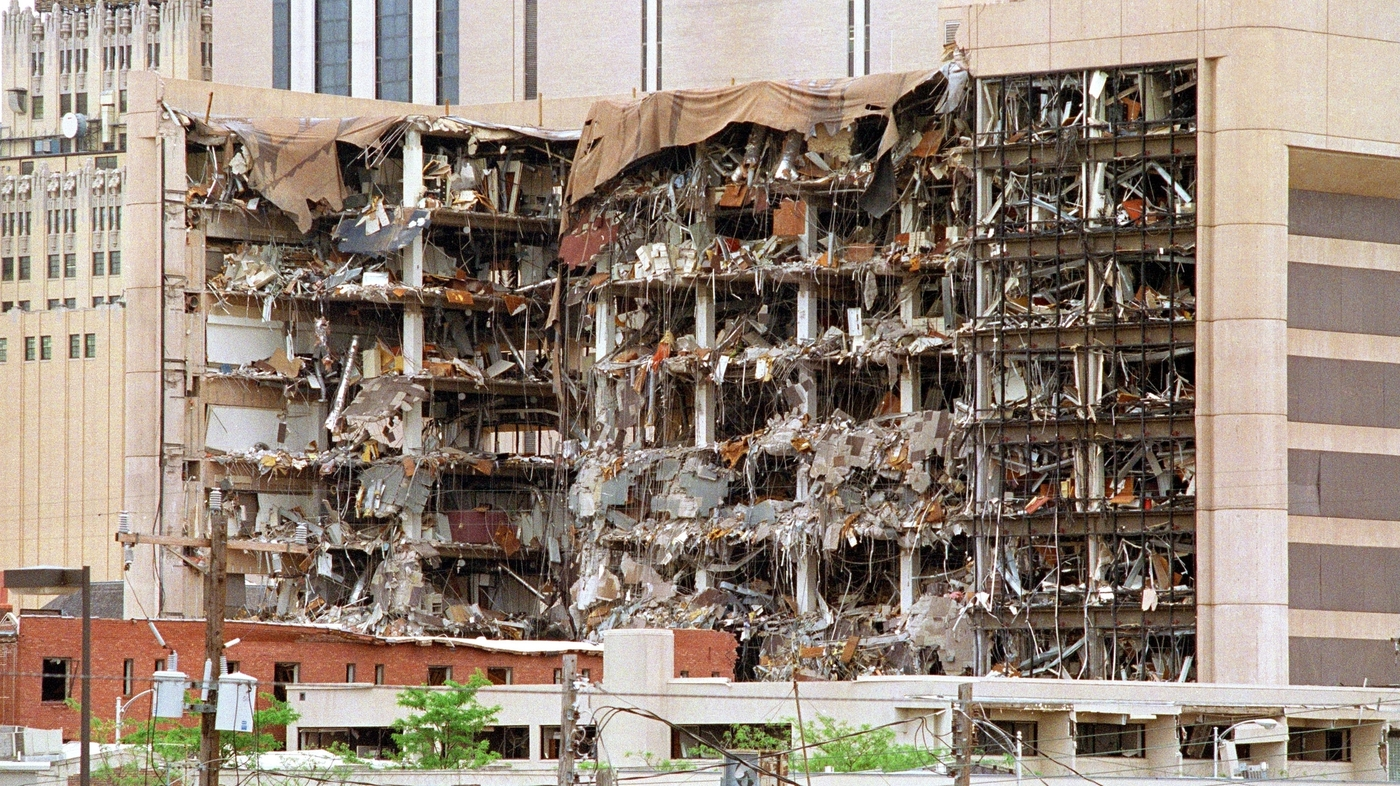 an analysis of the governments response to the oklahoma city bombing Fifteen years ago today, militia sympathizer timothy mcveigh blew up a truck full of explosives at the alfred p murrah federal building in oklahoma city, killing 168 people and wounding more than.