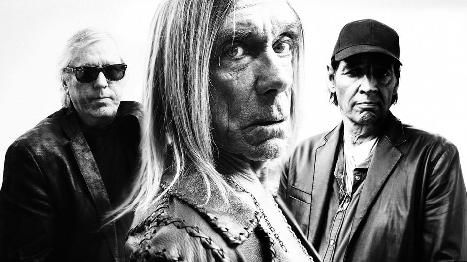 Iggy & The Stooges' new album, Ready To Die, comes out April 30. (Courtesy of the artist)