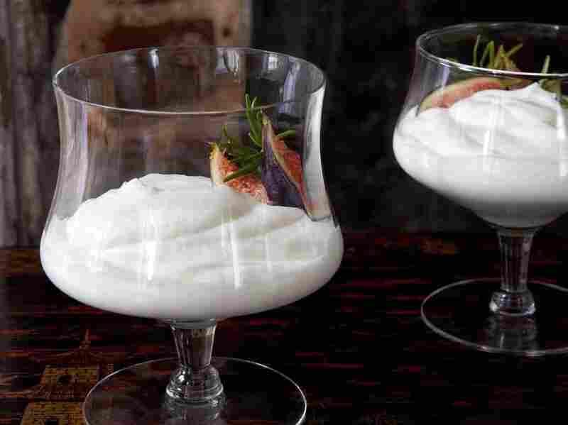 Syllabub is a traditional dessert featuring sherry, cream and sugar.