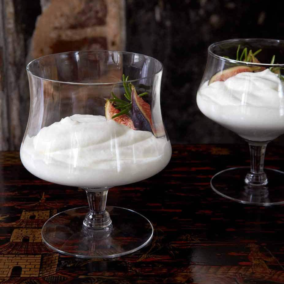 Syllabub is a traditional dessert featuring sherry, cream and sugar.