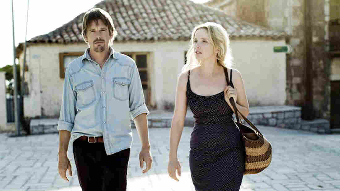 Richard Linklater's Before Midnight is one of many high-profile films set to be shown at this week's Tribeca Film Festival in New York City. (Pictured: Ethan Hawke as Jesse and Julie Delpy as Celine)