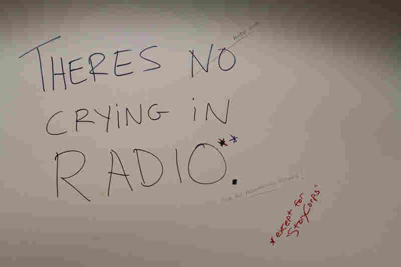 """""""There's no crying in radio. (Except for StoryCorps)"""""""