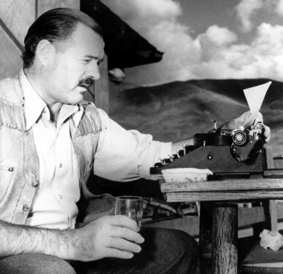 "Ernest Hemingway once said, ""A man does not exist until he is drunk."""