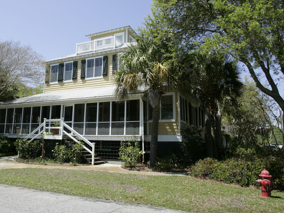 Jenny Sanford says her ex-husband was in her Sullivan's Island, S.C., home without her permission.