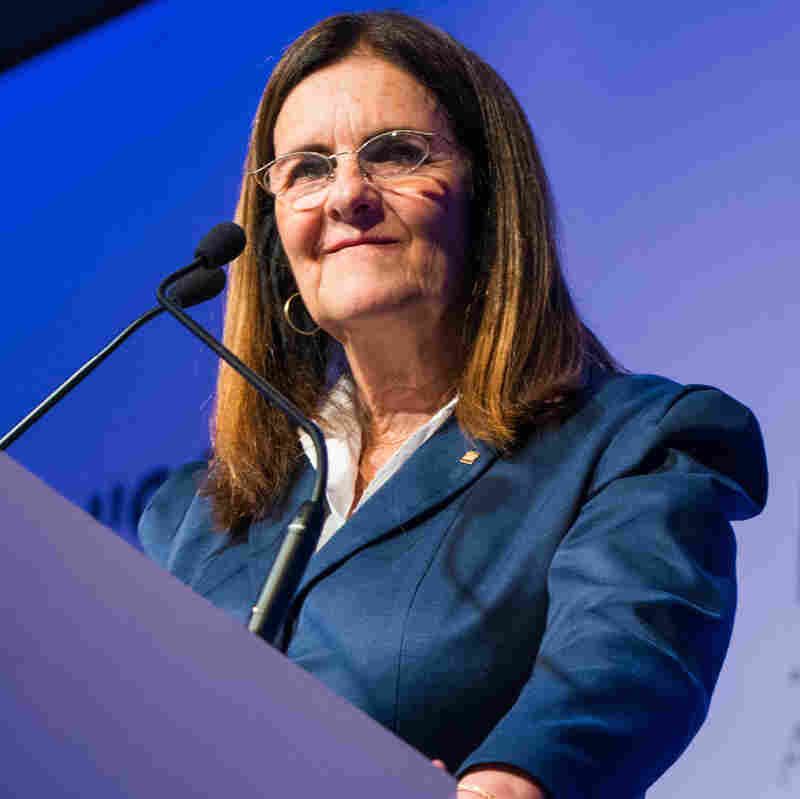 Petrobras state-owned oil company CEO Maria das Gracas Silva Foster makes a speech during the Women's Forum Brazil 2012 in Sao Paulo, Brazil last year.
