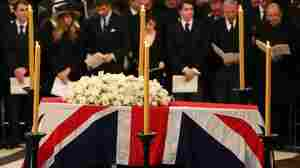 For Thatcher, 'A Great Calm' After A Life Of Controversy