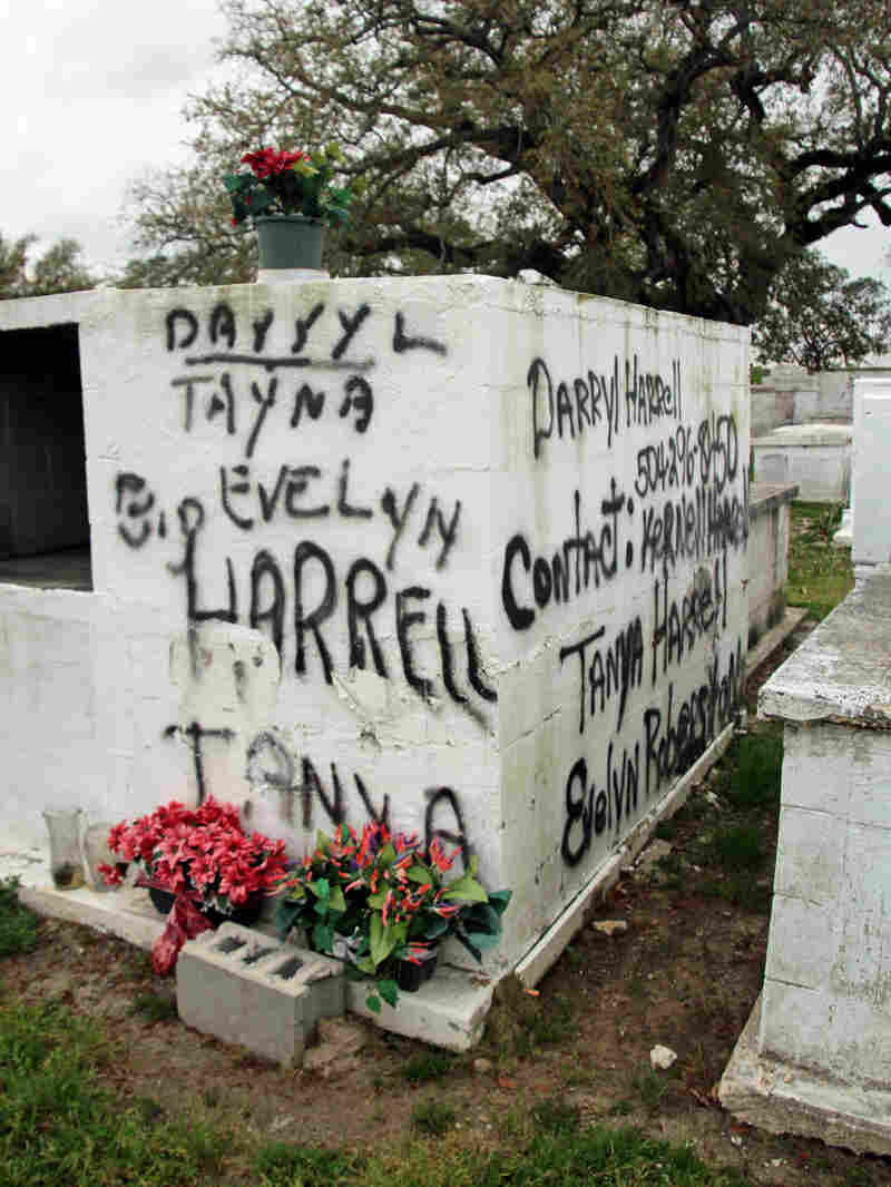 Since Hurricane Isaac, some people have gone to great lengths to ensure their loved ones' tombs are never lost.