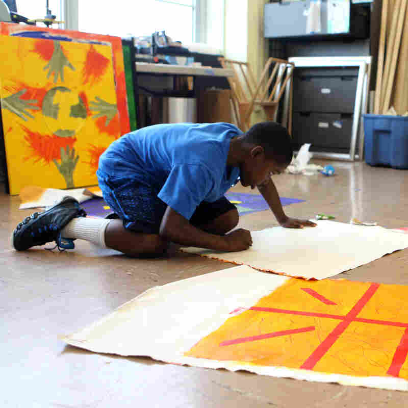 In D.C., Art Program Turns Boys' Lives Into 'Masterpieces'