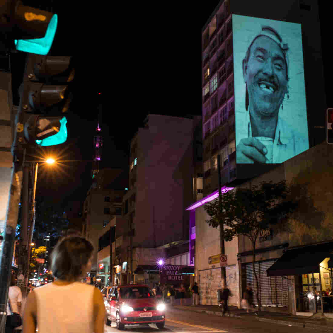 In Gritty Sao Paulo, Artists Take To The Streets