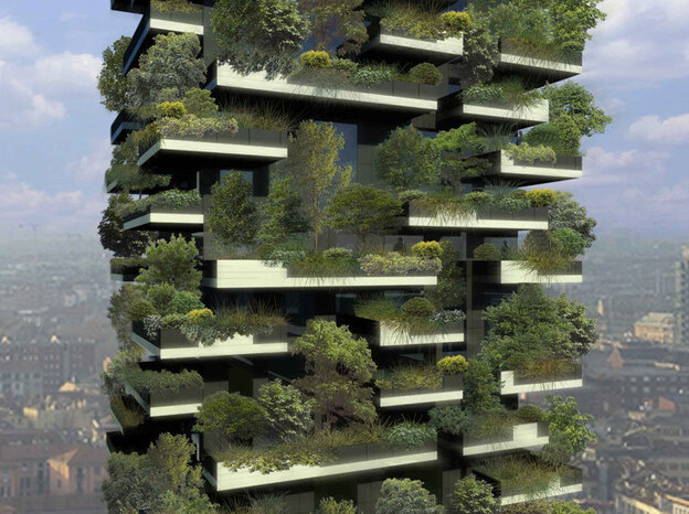 Bosco Verticale Detail
