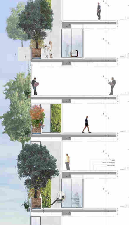 Bosco Verticale schematic