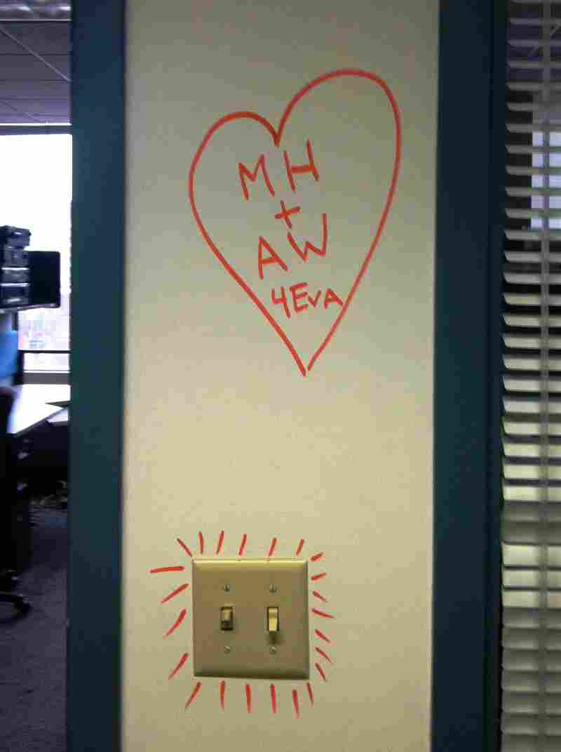 We might be leaving the building but that doesn't stop the love.