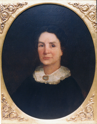 "Jane Long, the ""Mother of Texas,"" is one of the women profiled in Hutchison's book."