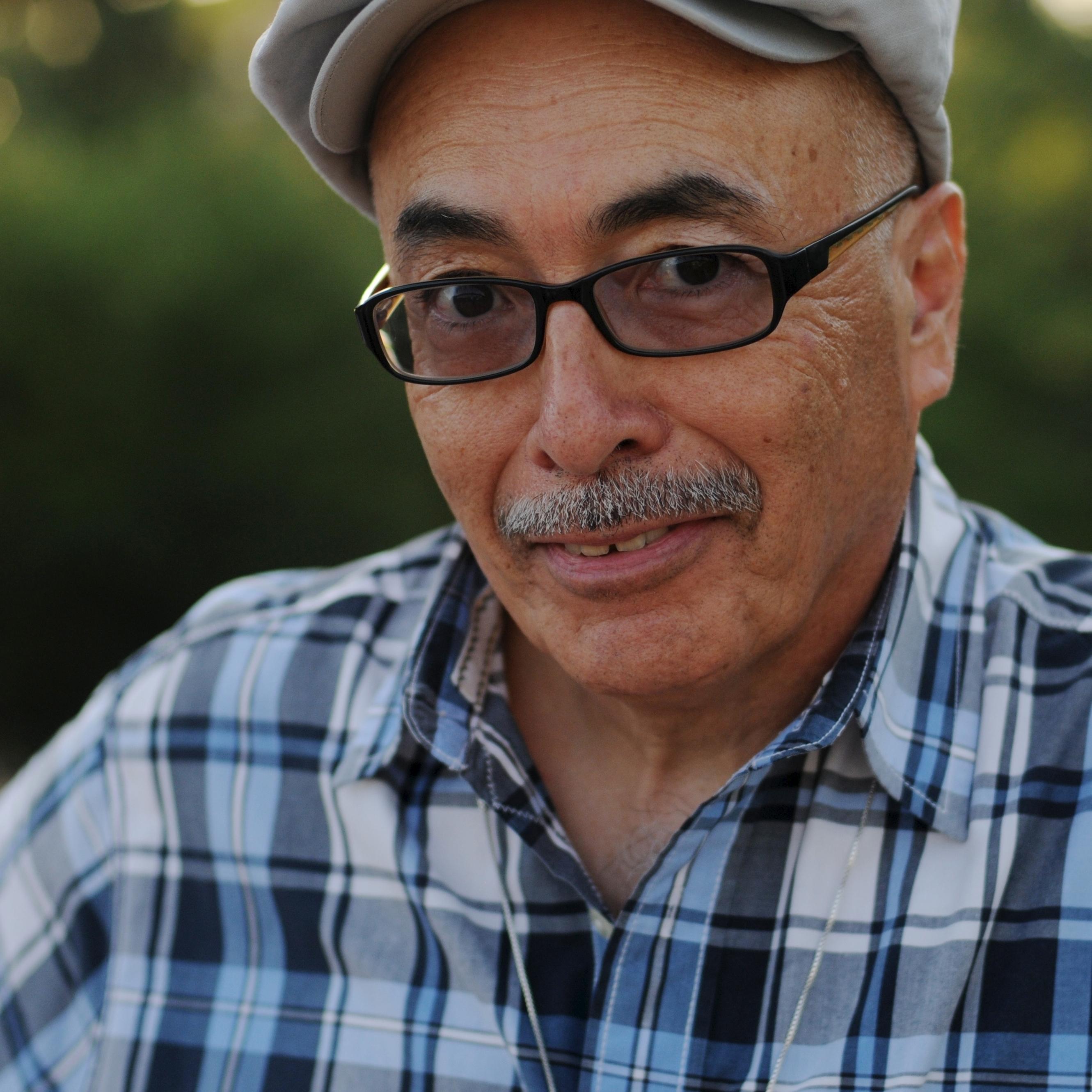 California poet laureate Juan Felipe Herrera.