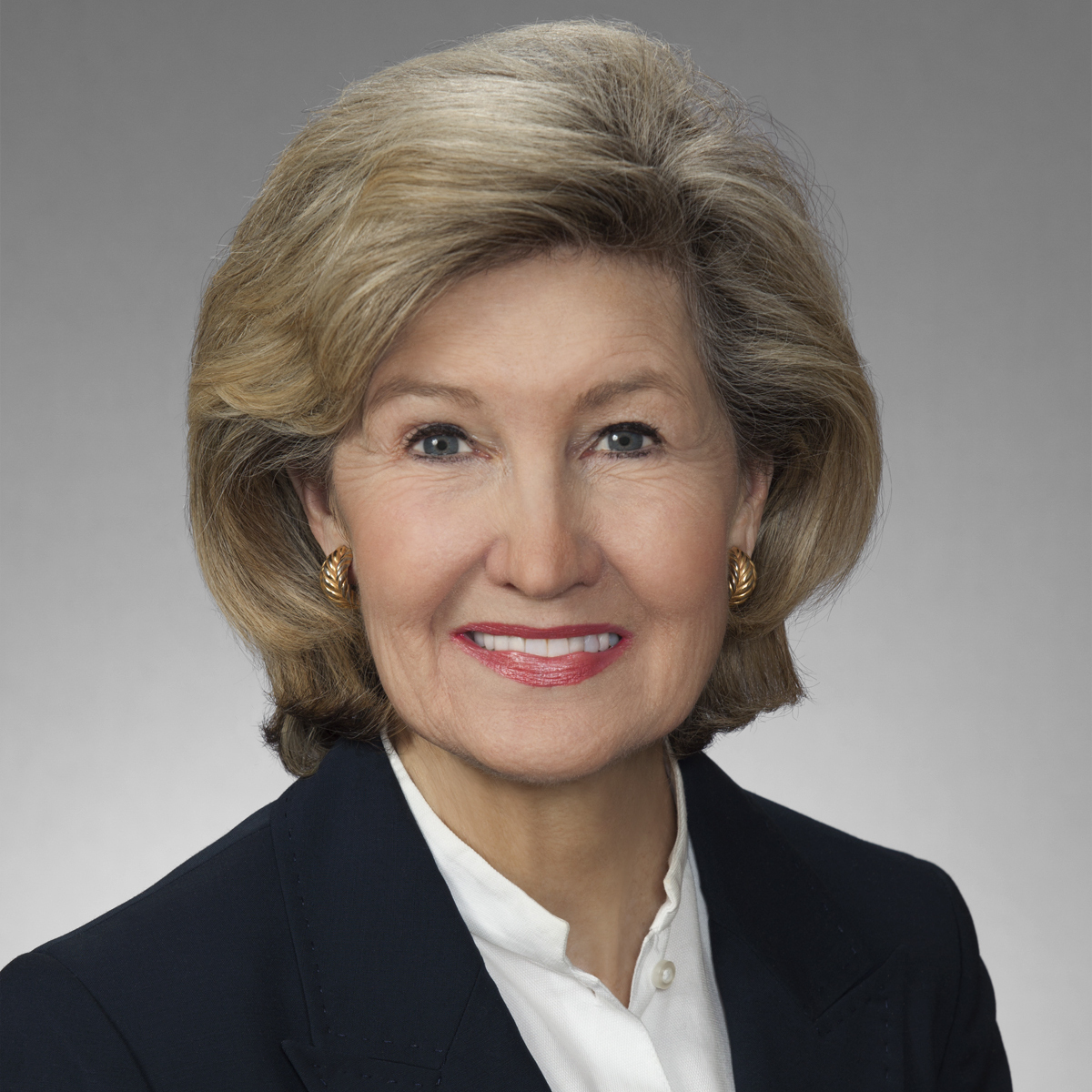 Kay Bailey Hutchison was the first woman elected to represent Texas in the United States Senate, serving from 1993 to 2013. She lives in Dallas with her family.
