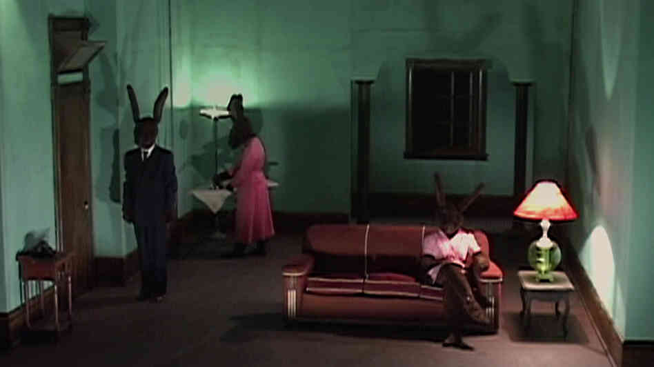 Researchers used a clip from the David Lynch film Rabbits to make volunteers uneasy. Afterward some people got Tylenol, which appeared to help them cope.